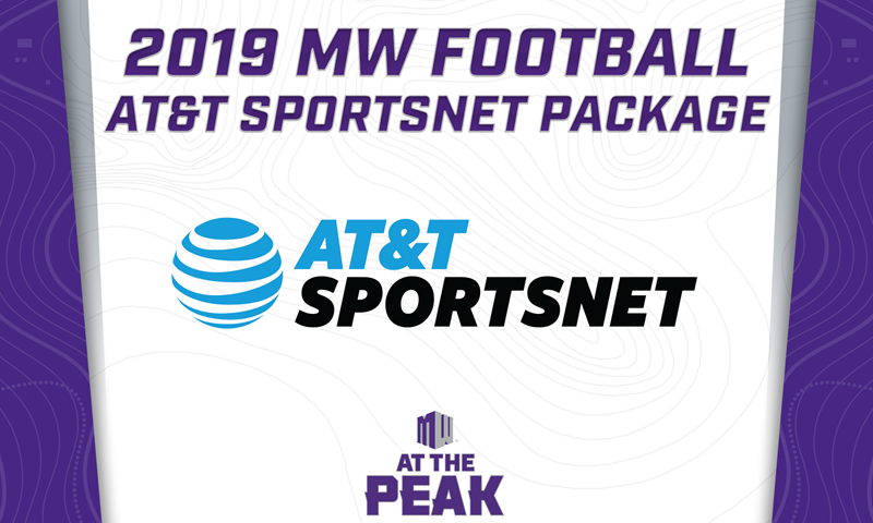Mountain West Football Announces 2019 Coverage on AT&T SportsNet