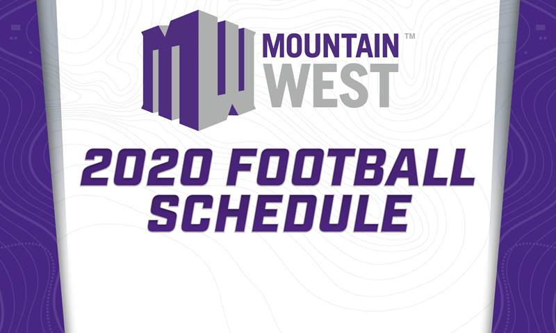 Mountain West Announces 2020 Football Schedule