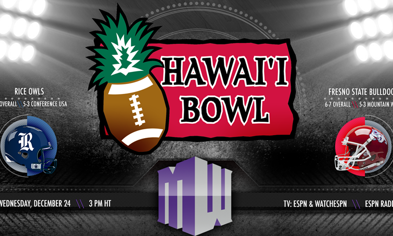 A Look Inside Hawai I Bowl Mountain West Conference