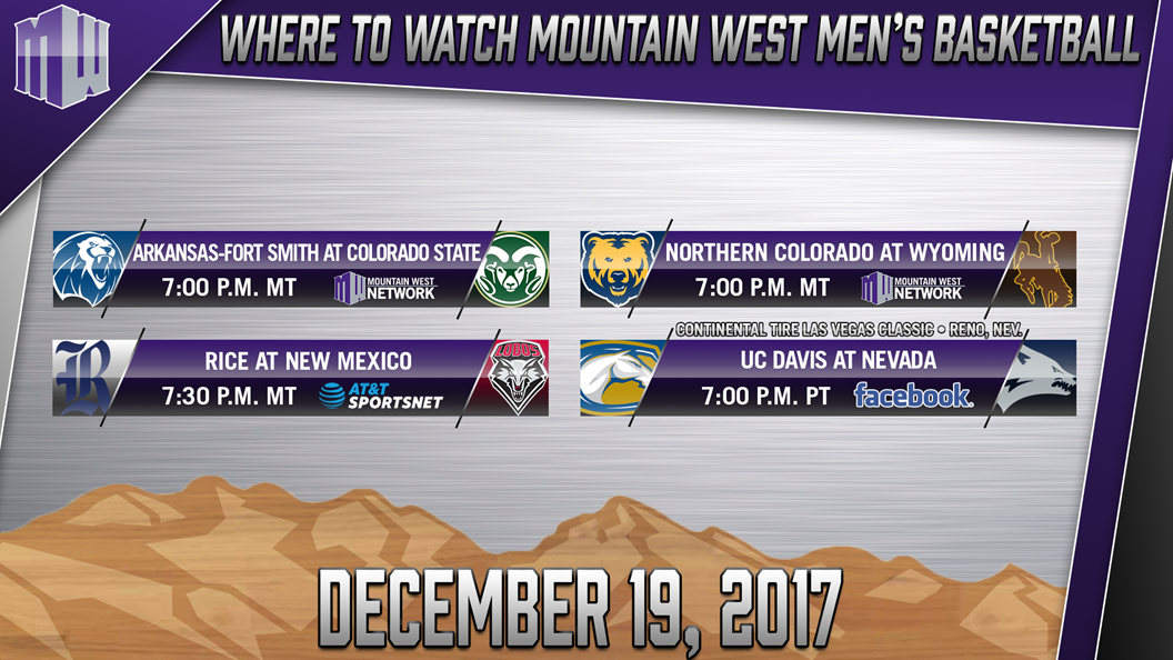 WATCH LIVE ON THE MWN - Mountain West Men's Basketball