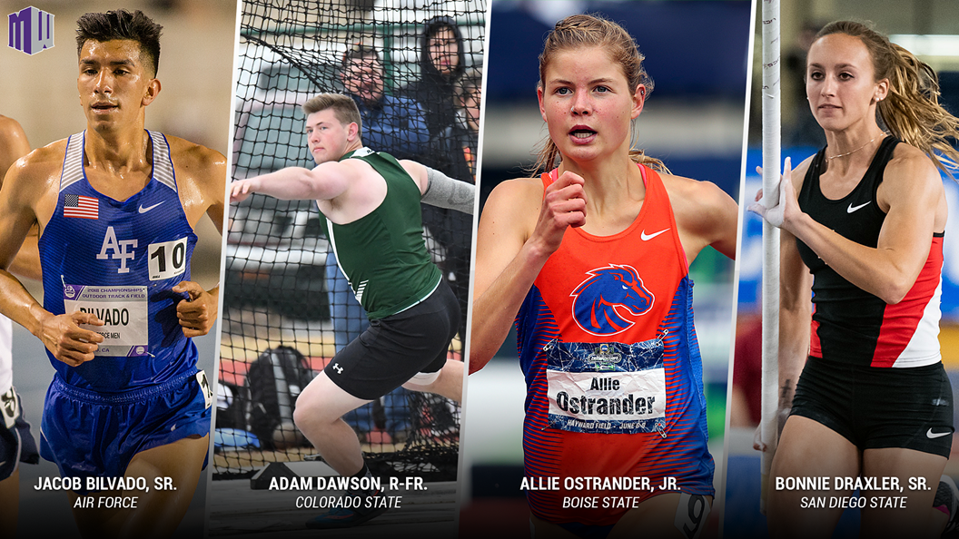 Mountain West Outdoor Track & Field Athletes of the Week