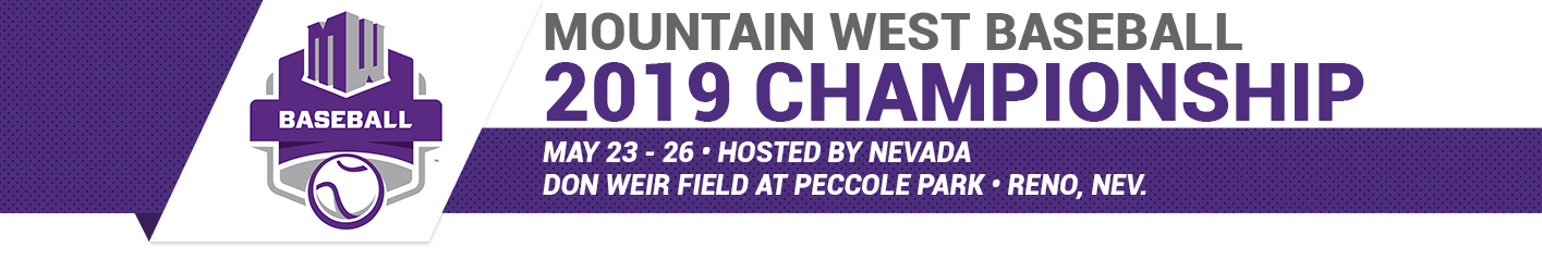 2019 Mountain West Baseball Championship Banner